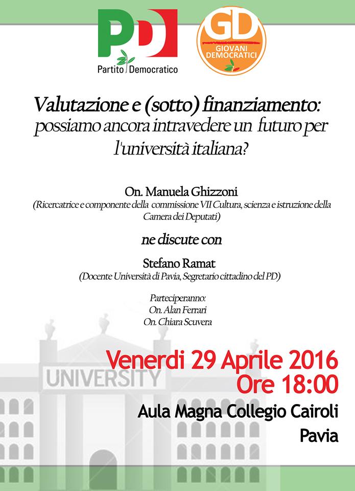 Pavia 29 aprile