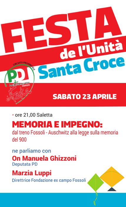 Santa Croce_23 Aprile_Memoria