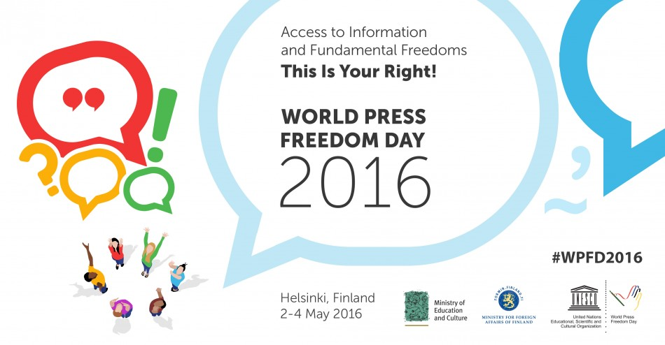 World Press Freedom Day 2016