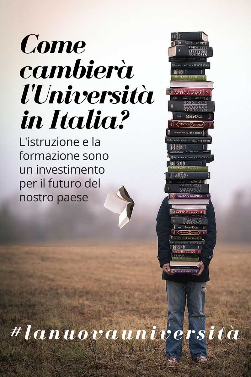 #lanuovauniversità vista da Manuela Ghizzoni