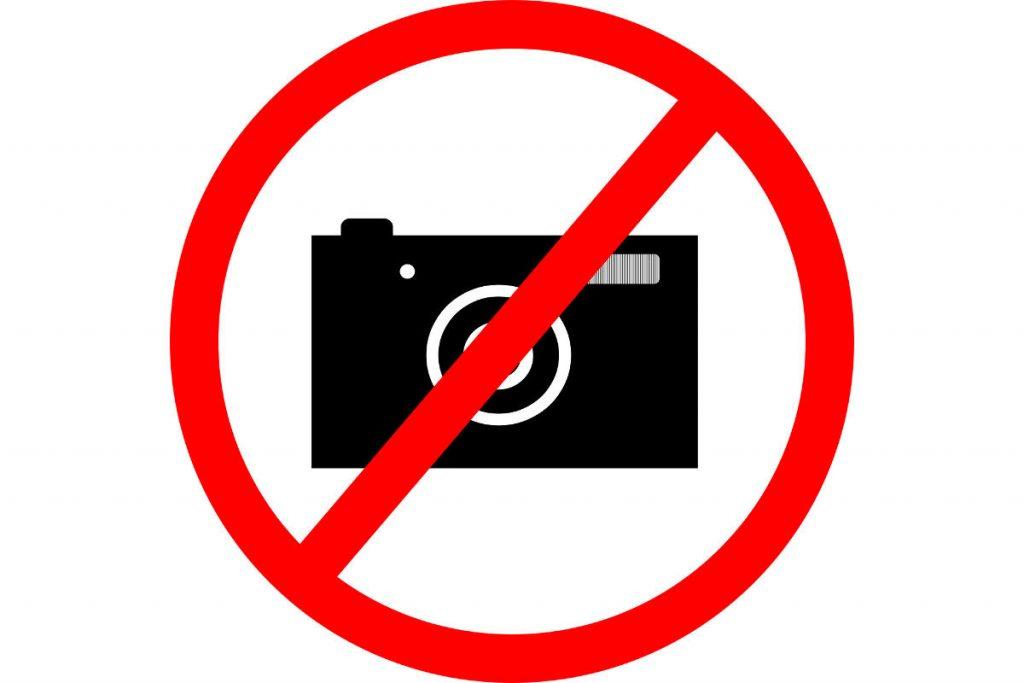 divieto-foto